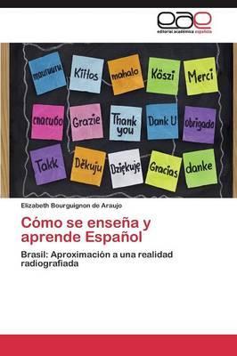 Cómo se enseña y aprende Español