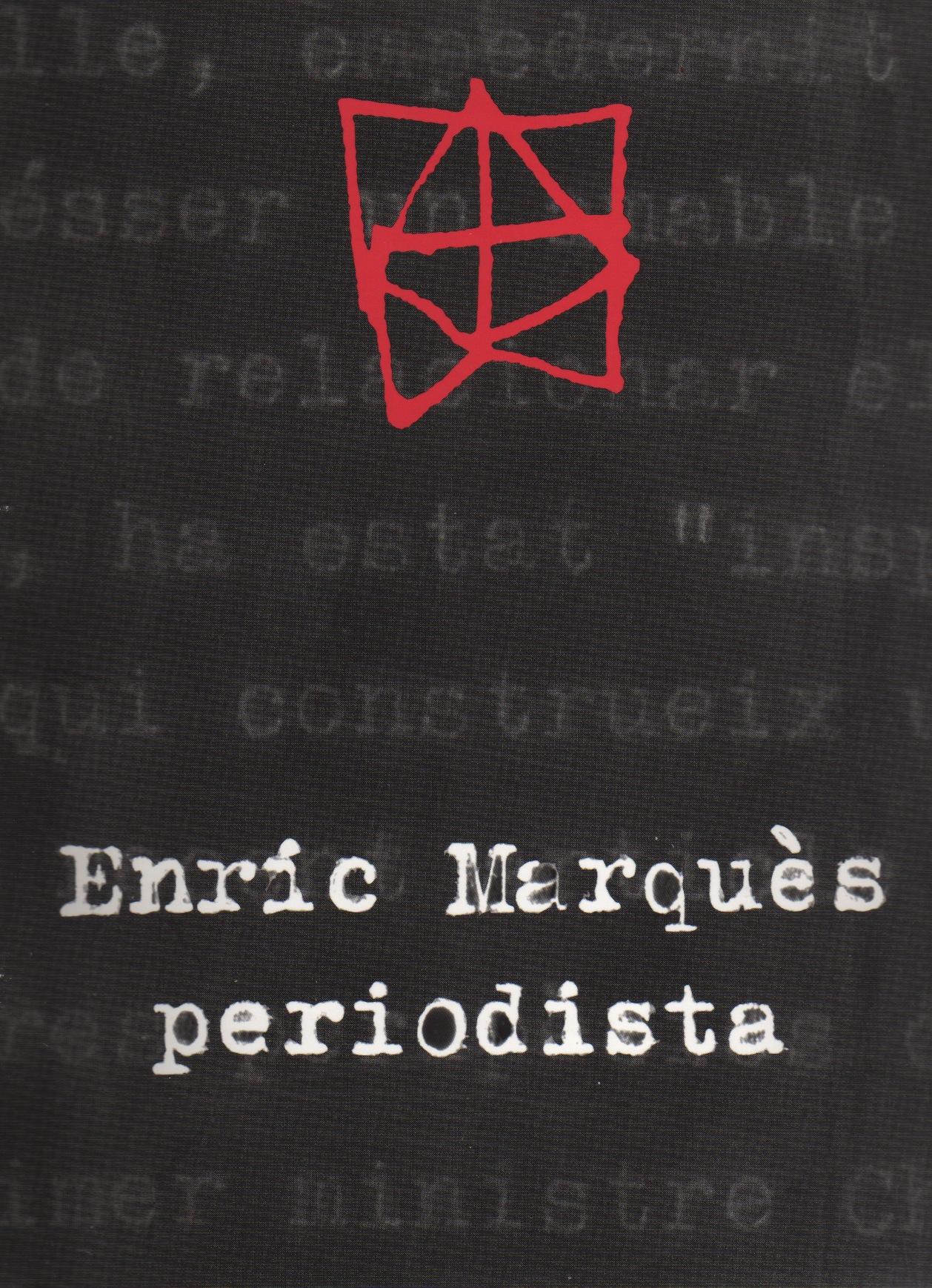 Enric Marqués, periodista