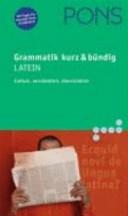 Pons Grammatik Latein. Kurz und bündig