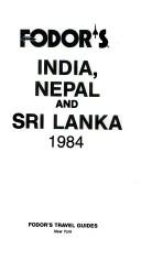 India, Nepal and Sri Lanka, 1984