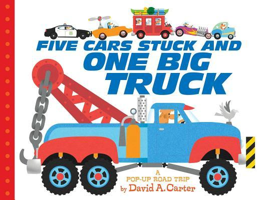 Five Cars Stuck and One Big Truck