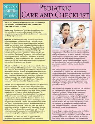 Pediatric Care and C...