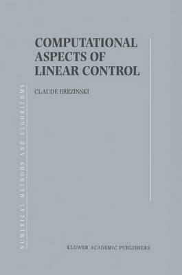 Computional Aspects of Linear Control