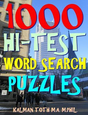 1000 Hi-Test Word Search Puzzles