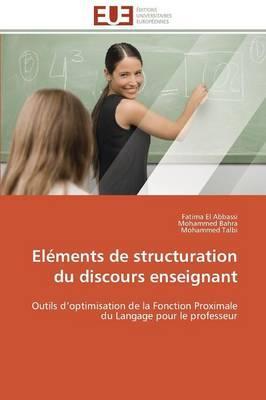 Elements de Structuration du Discours Enseignant