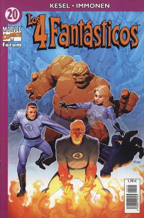 Los 4 Fantásticos Vol.4 #20 (de 24)