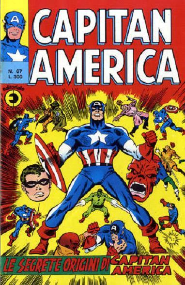 Capitan America n. 67