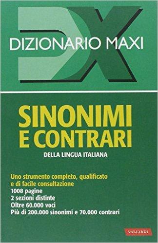 Sinonimi e contrari della lingua italiana