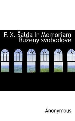 F. X. Alda in Memoriam Ru Eny Svobodov