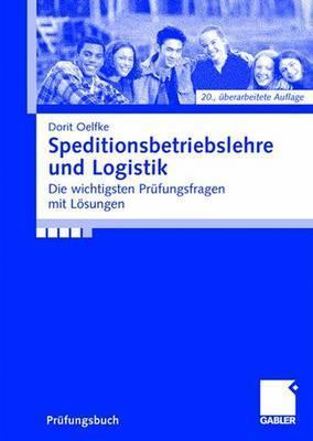 Speditionsbetriebslehre Und Logistik