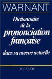 Dictionnaire de la prononciation française dans sa norme actuelle
