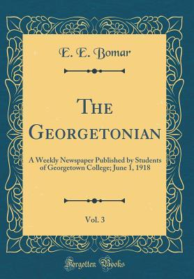 The Georgetonian, Vol. 3