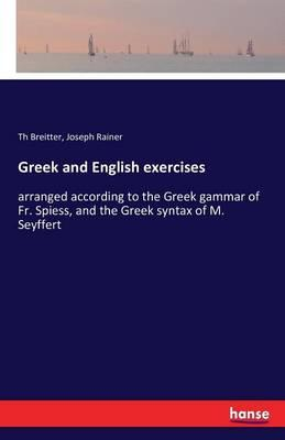 Greek and English exercises
