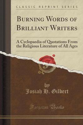 Burning Words of Brilliant Writers