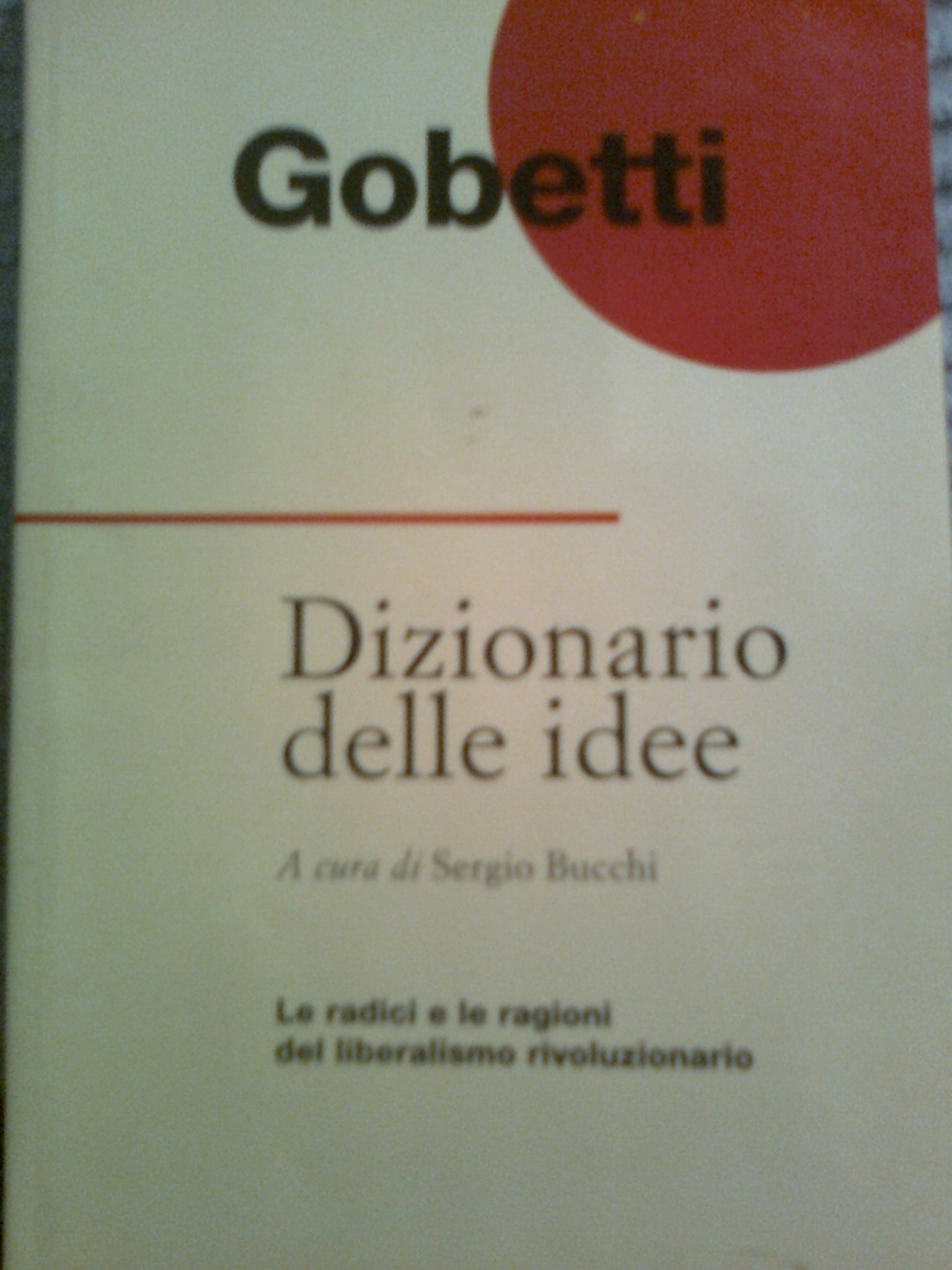 Dizionario delle ide...