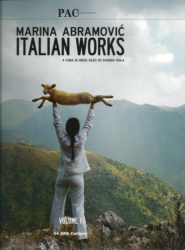 Marina Abramovic Italian Works
