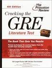 Cracking the GRE Literature Test, 4th Edition