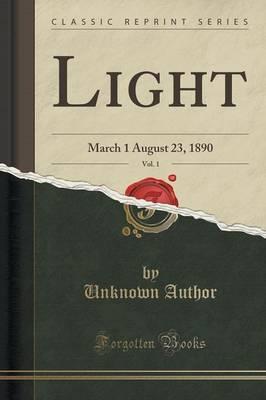Light, Vol. 1