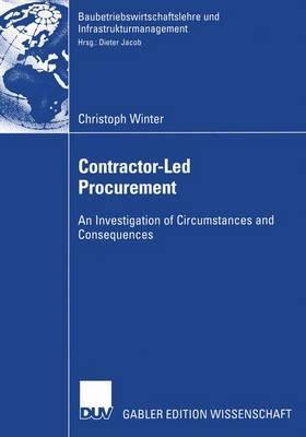 Contractor-Led Procurement