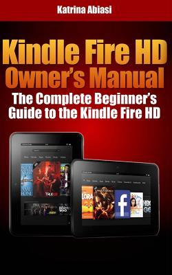 Kindle Fire Hd Owner's Manual
