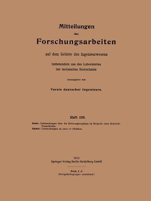 Mitteilungen Über Forschungsarbeiten Auf Dem Gebiete Des Ingenieurwesens