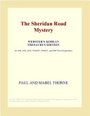 The Sheridan Road Mystery (Webster's Korean Thesaurus Edition)