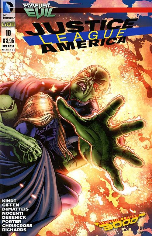Justice League America n. 10