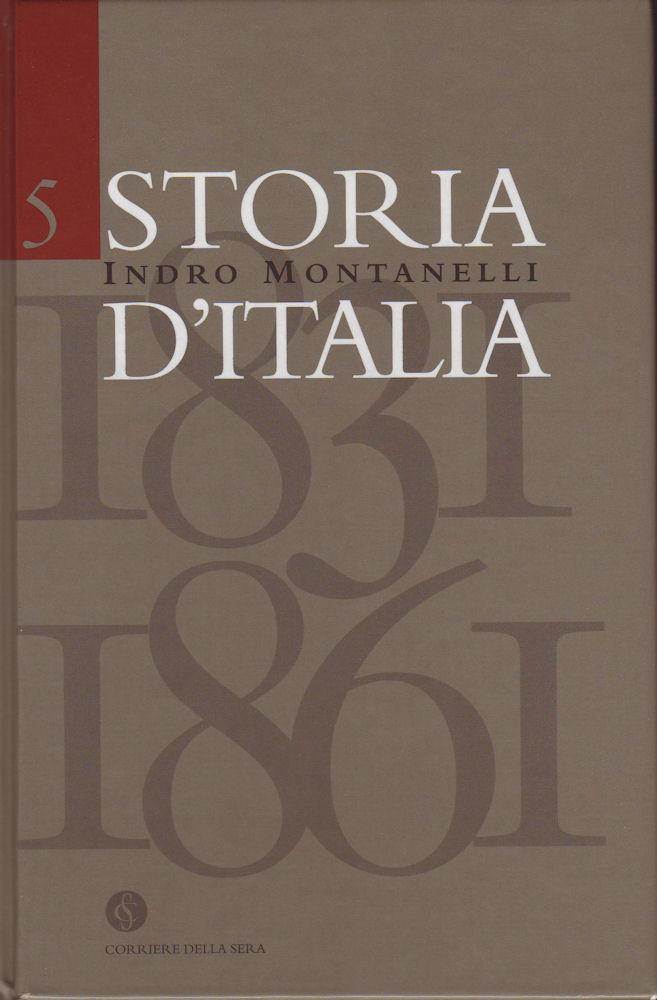 Storia d'Italia vol. 5