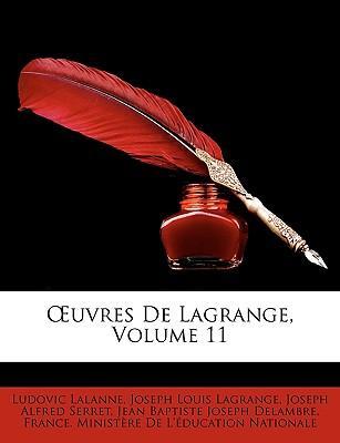 Uvres de Lagrange, V...