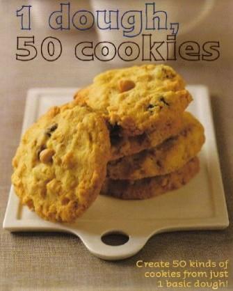 1 Dough 50 Cookies