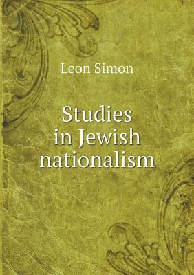 Studies in Jewish Nationalism