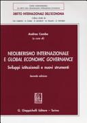 Neoliberismo internazionale e global economic governance