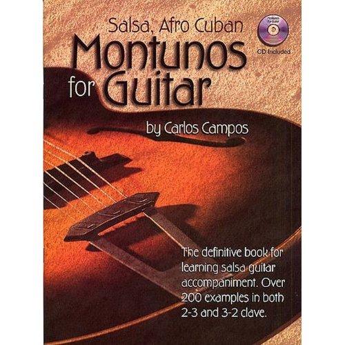 Salsa and Afro Cuban Montunos for Guitar