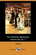 The American Missionary, Volume 48, No. 7