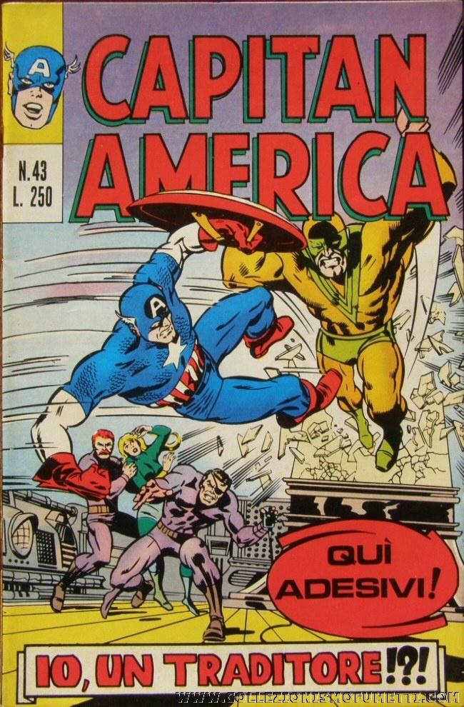 Capitan America n. 4...