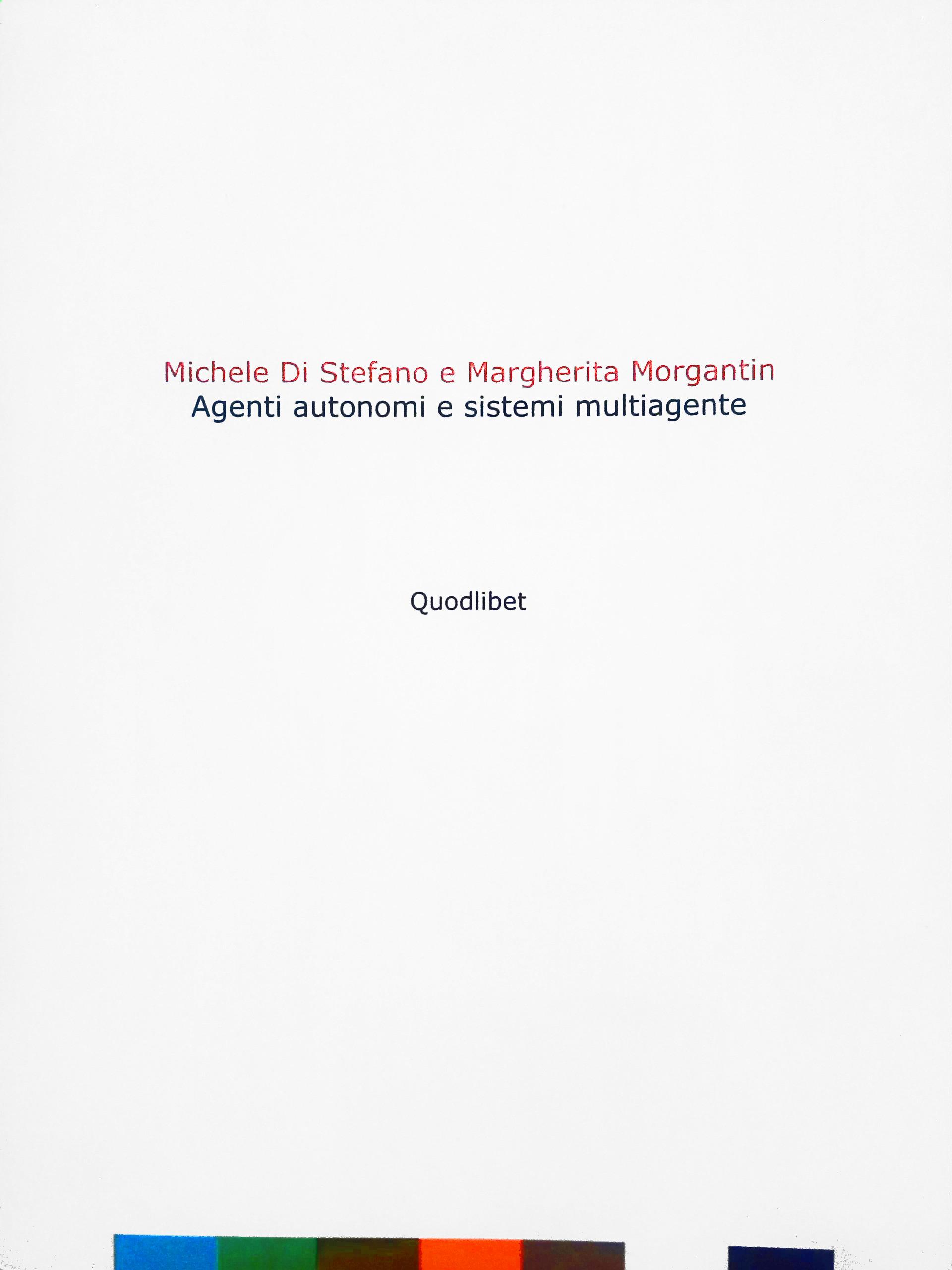 Agenti autonomi e sistemi multiagente