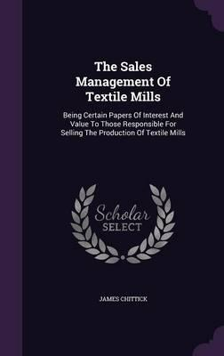 The Sales Management of Textile Mills