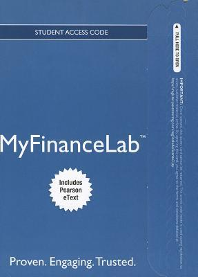 Personal Finance New Myfinancelab With Pearson Etext Access Card