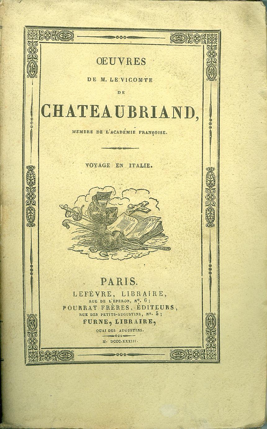 Œuvres de M. le Vicomte de Chateaubriand - Tome XIII