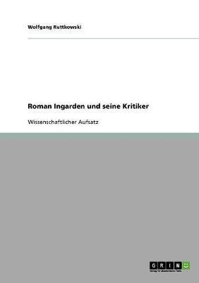 Roman Ingarden und seine Kritiker