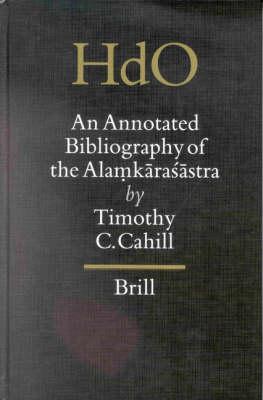 An Annotated Bibliography of the Alamkarasastra