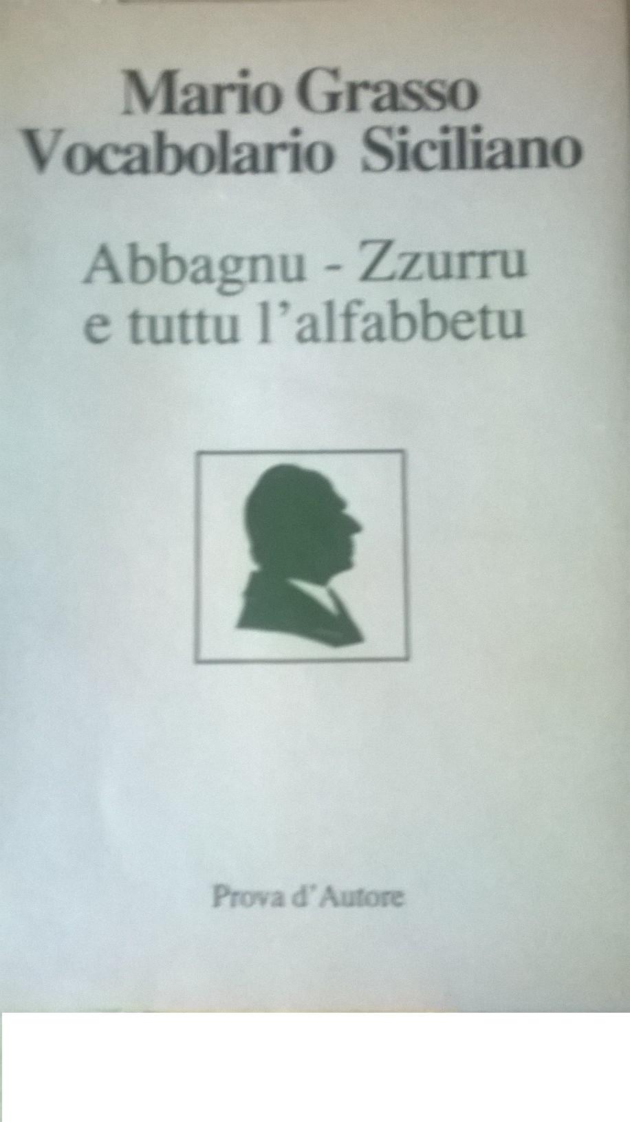 Vocabolario siciliano