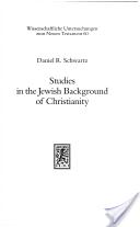 Jewish Background of Christianity