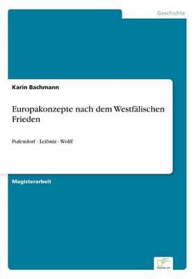 Europakonzepte nach dem Westfälischen Frieden