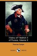 History of Friedrich II of Prussia