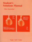 Fundamentals of Differential Equations/Fundamentals of Differential Equations and Boundary Value Problems