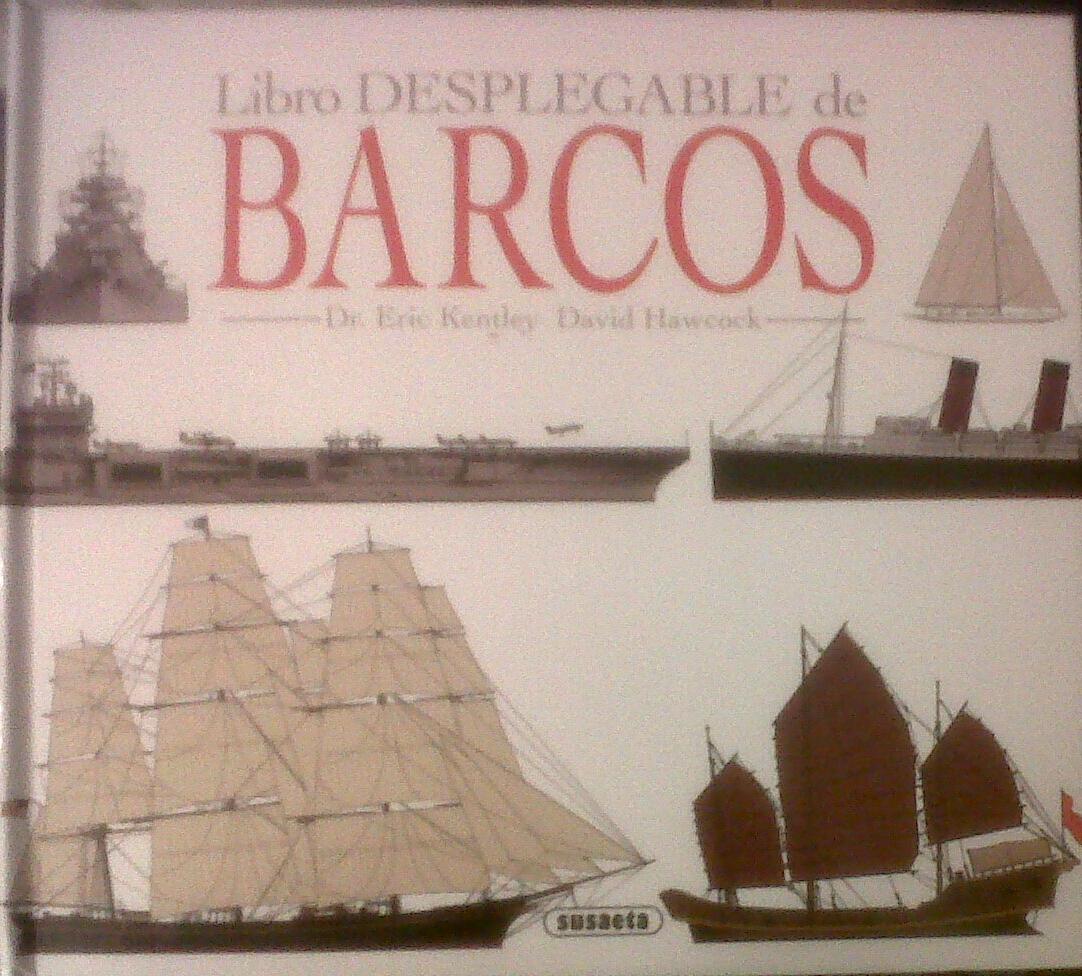 Libro desplegable de barcos