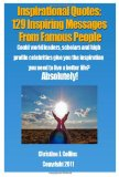 Inspirational Quotes: 129 Inspiring Messages from Famouse People