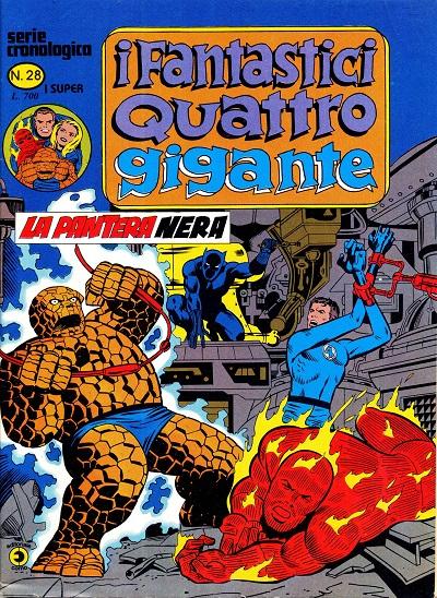 I Fantastici Quattro Gigante n. 28