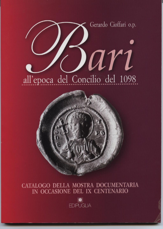 Bari all'epoca del Concilio del 1098